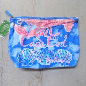 NWT Lilly Pulitzer Destination Cape Cod Pouch